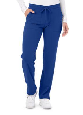 Dickies Mid Rise Straight Leg Drawstring Scrub Pants