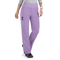 ELLE Joie De Vivre Knit Waist Cargo Tonal Texture Pants