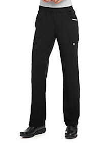 Simply Polished Contrast Trim Cargo Pants