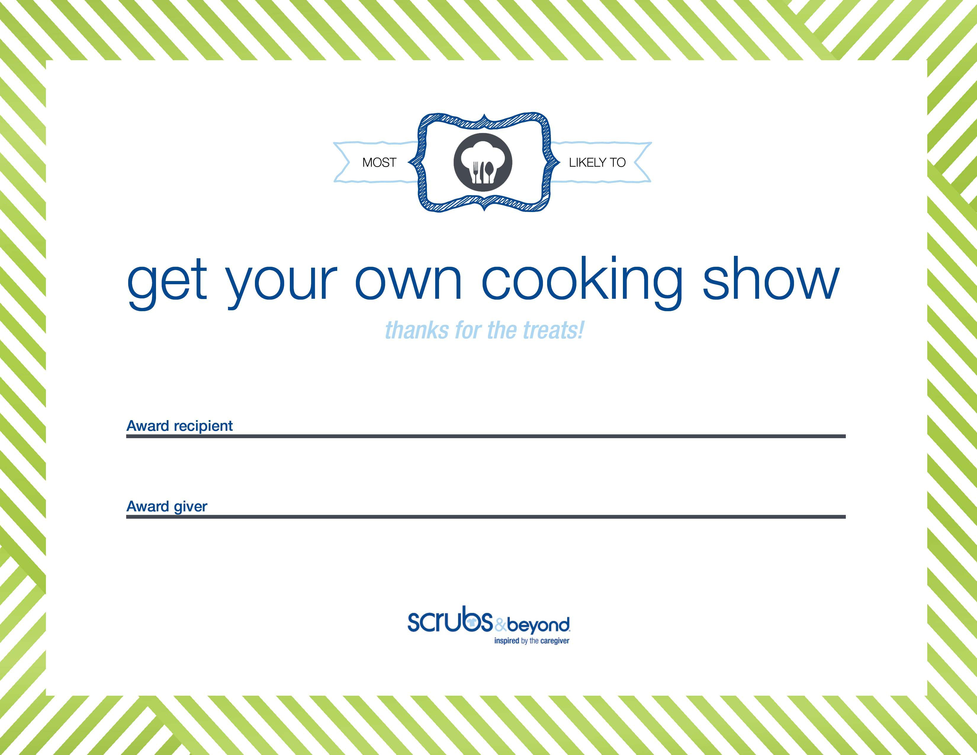 Certificate awards scrubs and beyond chef certificate box shadow 1betcityfo Image collections