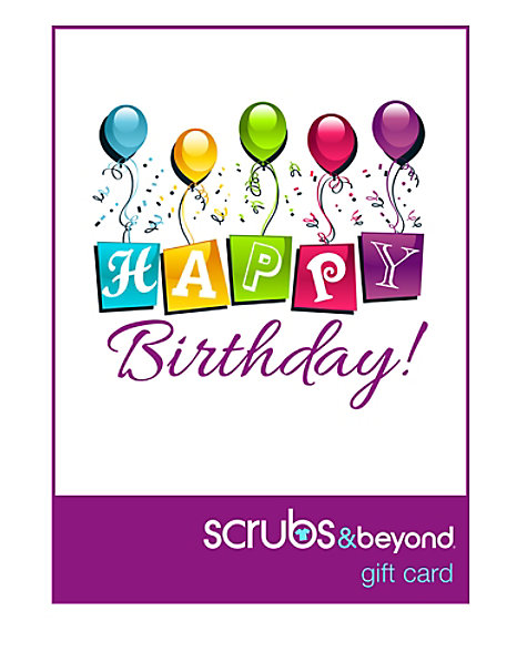 Happy Birthday Email Gift Card