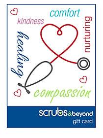 Scrubs & Beyond Nurses gift card