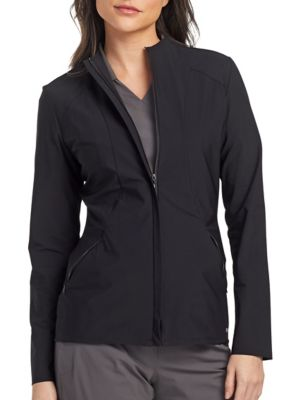 Grey's Anatomy Edge Luna 2-Pocket Angled Seam Scrub Jacket