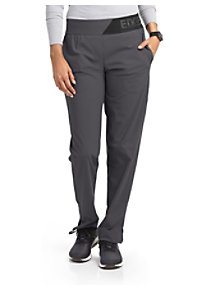 156013d8936 See Details item #GEP004 · Grey's Anatomy Edge 3 Pocket Logo Elastic Waist  Scrub Pants