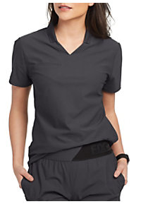 ebe00d391a9 See Details item #GET006 · Grey's Anatomy Edge Lyra 3 Pocket Polo Scrub Top