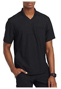 3236ede614a See Details item #GET009 · Grey's Anatomy Edge Men's Evolution 3 Pocket  Polo Scrub Top