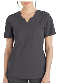 022752ab9f6 See Details item #GET013 · Grey's Anatomy Edge Axis Split Neck Scrub Top