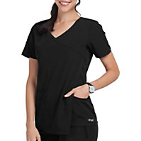 Grey's Anatomy Signature 3-Pocket Drape Pleat Tops