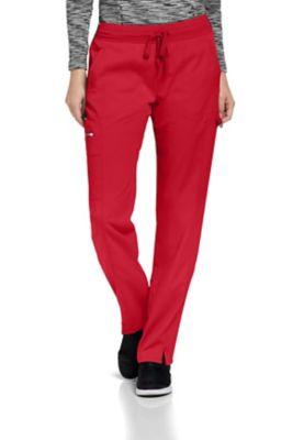 Grey's Anatomy Spandex Stretch 3-Pocket Logo Waist Cargo Scrub Pants
