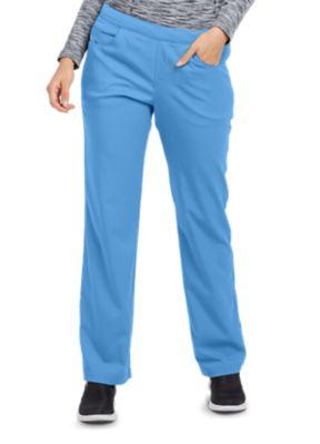 Grey's Anatomy Spandex Stretch 5 Pocket Flat Front Scrub Pant