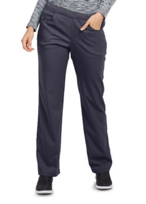 Grey's Anatomy Spandex Stretch 5 Pocket Flat Front Scrub Pant