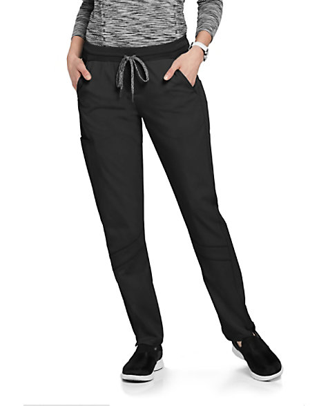 992ec55a354 Grey's Anatomy Spandex Stretch 4-Pocket Knit Waist Scrub Pants | Scrubs &  Beyond