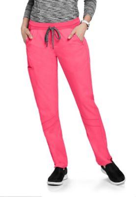 Grey's Anatomy Spandex Stretch 4-Pocket Knit Waist Scrub Pants
