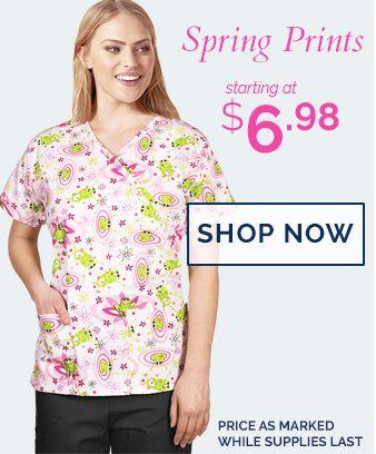spring prints