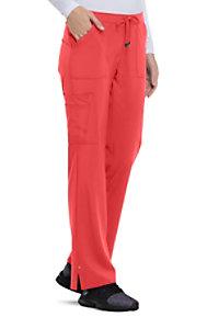 dbf31ce0d7d See Details item #HS025 · HeartSoul Love Always Charmed Straight Leg  Drawstring Scrub Pants