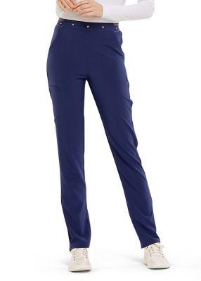 Adored Elastic Waist Slim Leg Pants