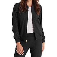 HeartSoul Break Free Embossed Zip Front Jackets