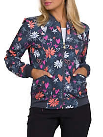 Love U For Daisies Print Jacket