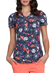 Love U For Daisies Print Top