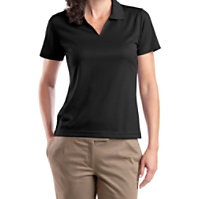 Sport-Tek Ladies V-neck Dri-mesh Polo