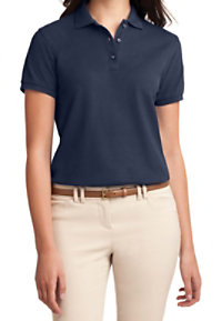 Port Authority Women's Silk Touch Short Sleeve Polo