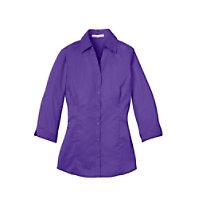 Port Authority Ladies 3/4 Length Sleeve Blouse