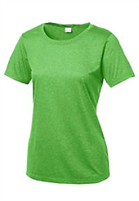 Sport-Tek Ladies Heather Contender Scoop Neck Tees