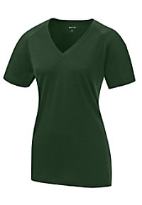 Sport-Tek Ladies Ultimate Performance V-neck Tops