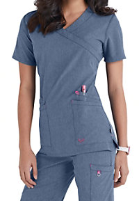 a5415cc2104 See Details item #S101033 · Smitten Glam Crossover Scrub Tops