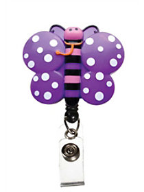 Animal Retractable Badge Holders