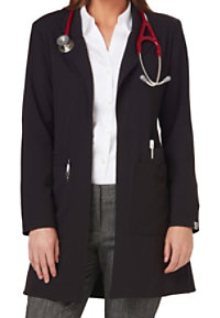 Sapphire 34 Inch Notched Collar Lab Coats With Certainty
