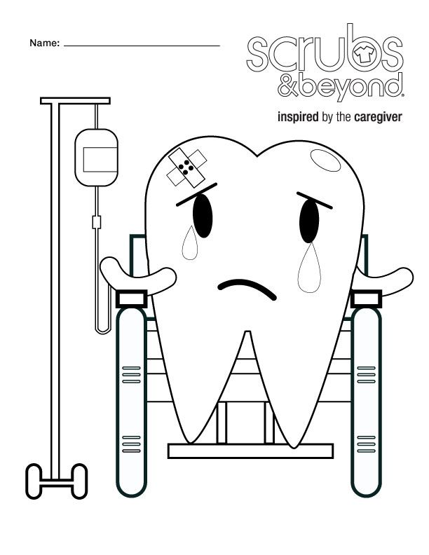 Coloring Pages | Scrubs and Beyond