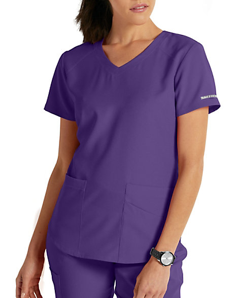 eaf256da35c4 Skechers Vitality 3 Pocket Virtual V-neck Scrub Tops