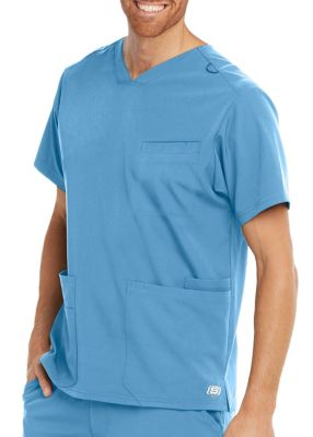 Skechers Men's Aspire 3 Pocket Sports V-Neck Scrub Top