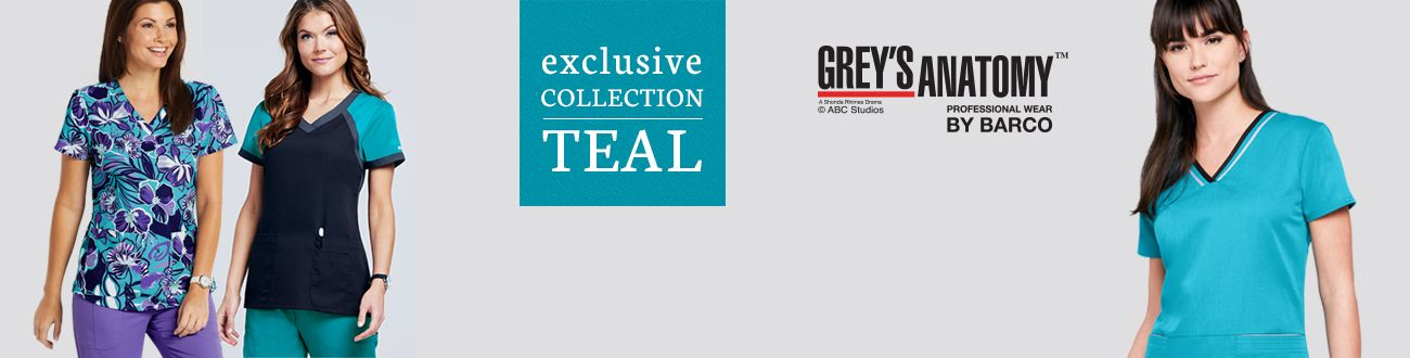 grey's anatomy exclusive teal
