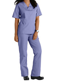 Natural Uniforms Unisex Two Piece Scrub Set