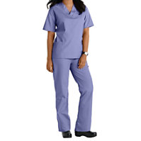 Natural Uniforms Unisex Two Piece Solid Scrub Set