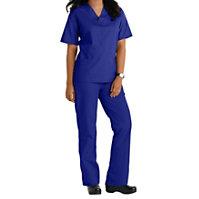 661b1dc2953 Natural Uniforms Unisex Two Piece Solid Scrub Set