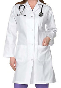 Natural Uniforms Women's 40 Inch Lab Coats