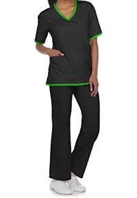 Natural Uniforms Two-piece Scrub Set