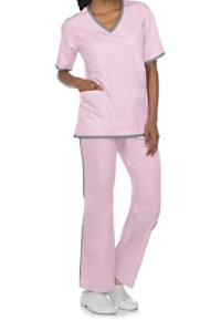 Natural Uniforms Two-piece Scrub Set