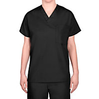 Scrub Wear V-neck Unisex Tops