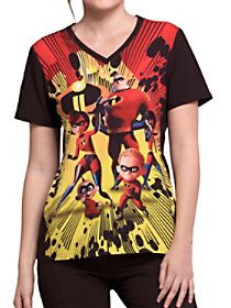 Incredibles II V-Neck Print Top