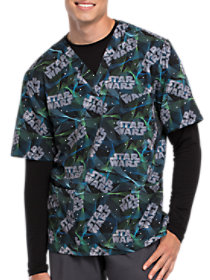 Star Wars Laser Tag V-Neck Print Top