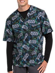 Star Wars Laser Tag V-Neck Print Top