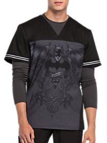 Batman Dark Knight V-Neck Print Top