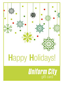 Uniform City Holiday Email Gift Cards