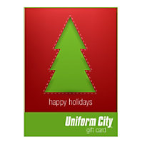 Uniform City Merry Christmas Email Gift Cards