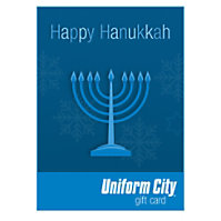 Uniform City Happy Hanukkah Email Gift Cards