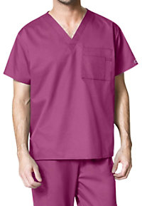 WonderWork Unisex V-neck Scrub Tops